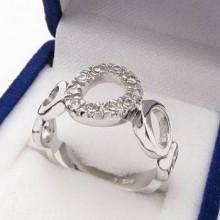 Stříbrný prsten KPS073