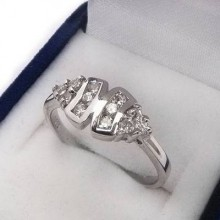 Stříbrný prsten KPS075