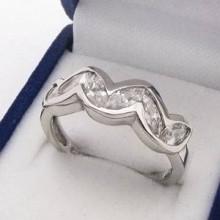 Stříbrný prsten KPS077