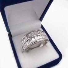 Stříbrný prsten KPS078