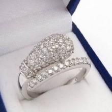 Stříbrný prsten KPS082