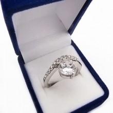 Stříbrný prsten KPS084