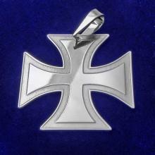 Stříbrný přívěsek maltézský kříž (KPRS071)
