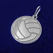 Stříbrný přívěsek volejbalový míč (KPRS164)