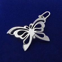 Stříbrný přívěsek motýl (KPRS085)