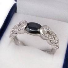 Stříbrný prsten KPS089