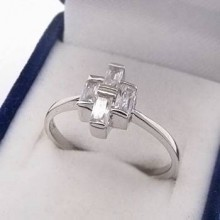 Stříbrný prsten KPS091