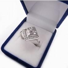 Stříbrný prsten KPS092