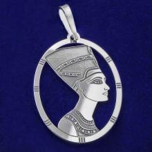Stříbrný přívěsek Nefertiti (KPRS045)