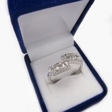 Stříbrný prsten KPS102
