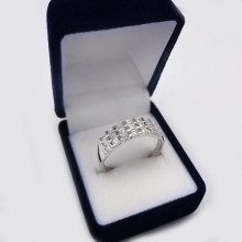 Stříbrný prsten KPS109