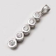 Dámský stříbrný přívěsek (KPRS111)